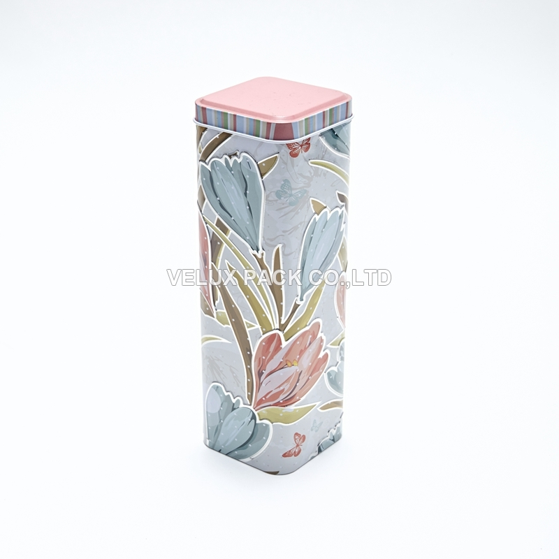 The latest promotional gift tin box
